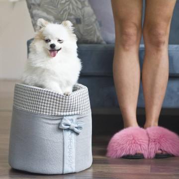 Cesta de juguetes para perros GLAMOUR