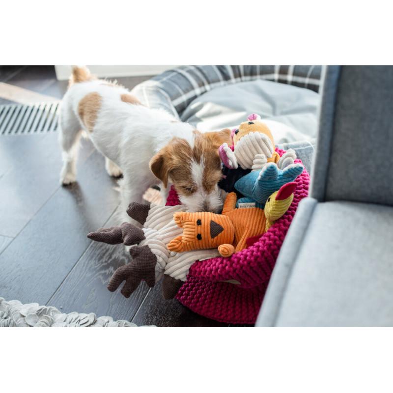 Cesta de juguetes para perro RING